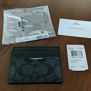 Coach Men's card case